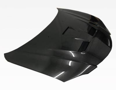 VIS Racing - Carbon Fiber Hood Fuzion Style for Mazda 3 4DR 04-09 - Image 1