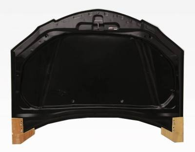 VIS Racing - Carbon Fiber Hood Fuzion Style for Mazda 3 4DR 04-09 - Image 3