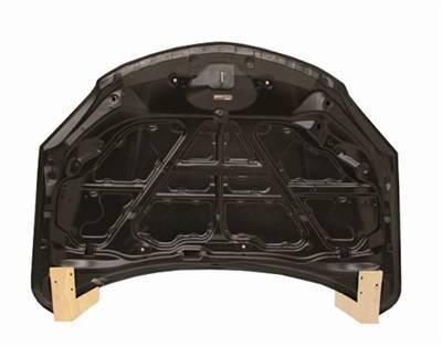VIS Racing - Carbon Fiber Hood OEM Style for Mazda 3 4DR 04-09 - Image 4