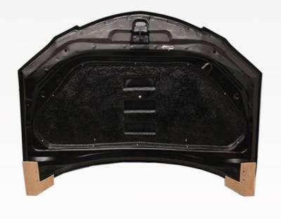 VIS Racing - Carbon Fiber Hood V Speed Style for Mazda 3 4DR 04-09 - Image 4
