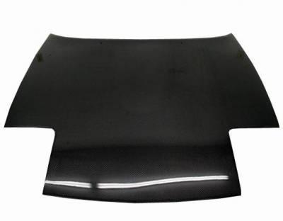 VIS Racing - Carbon Fiber Hood OEM Style for Mazda Miata 2DR 90-98 - Image 2