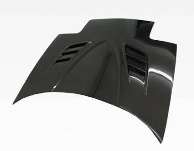 VIS Racing - Carbon Fiber Hood V Speed Style for Mazda Miata 2DR 90-98 - Image 2