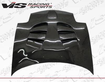 VIS Racing - Carbon Fiber Hood Fuzion Style for Mazda RX7 2DR 93-96 - Image 2