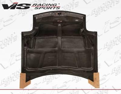VIS Racing - Carbon Fiber Hood Invader Style for Mazda RX7 2DR 93-96 - Image 4