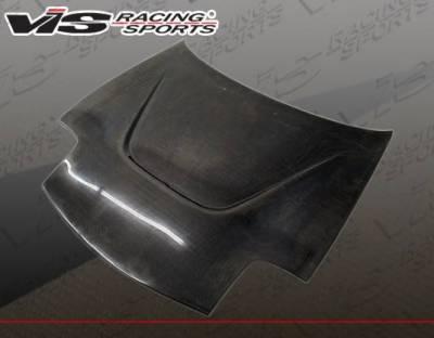 VIS Racing - Carbon Fiber Hood JS Style for Mazda RX7 2DR 93-96 - Image 2