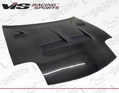 VIS Racing - Carbon Fiber Hood KS Style for Mazda RX7 2DR 93-96 - Image 1