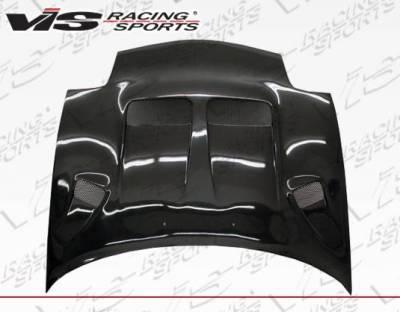 VIS Racing - Carbon Fiber Hood KS Style for Mazda RX7 2DR 93-96 - Image 3