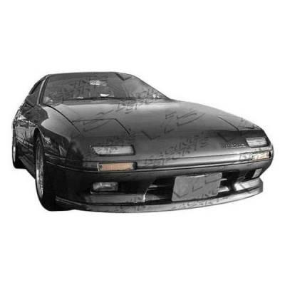VIS Racing - Carbon Fiber Hood OEM Style for Mazda RX7 2DR 86-91 - Image 2