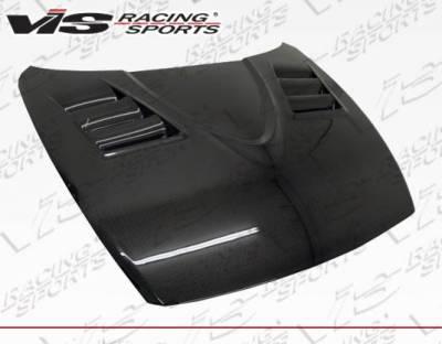 VIS Racing - Carbon Fiber Hood V-Speed Style for Mazda RX8 2DR 2004-2012 - Image 1