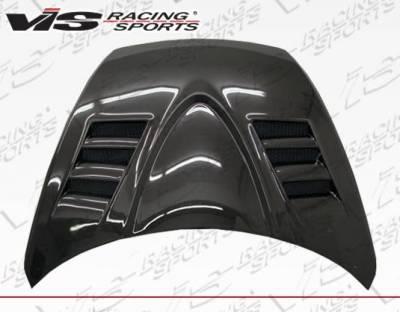 VIS Racing - Carbon Fiber Hood V-Speed Style for Mazda RX8 2DR 2004-2012 - Image 3