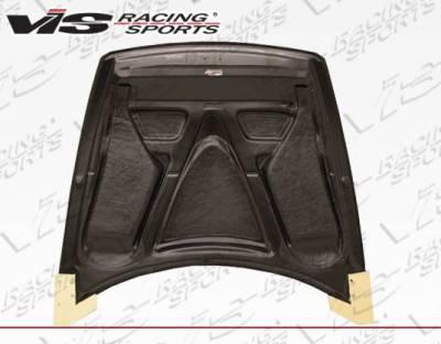VIS Racing - Carbon Fiber Hood V-Speed Style for Mazda RX8 2DR 2004-2012 - Image 4