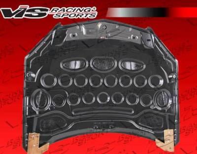 VIS Racing - Carbon Fiber Hood OEM Style for Mercedes C-Class C63 4DR 08-11 - Image 3