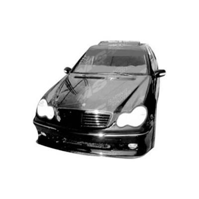 VIS Racing - Carbon Fiber Hood OEM  Style for Mercedes E-Class 4DR 00-02 - Image 2