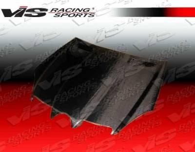 VIS Racing - Carbon Fiber Hood OEM Style for Mercedes SLK 2DR 05-10 - Image 3