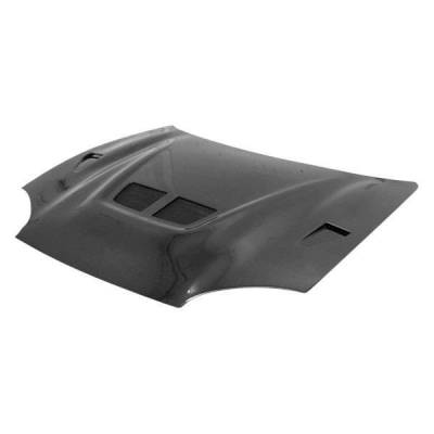 VIS Racing - Carbon Fiber Hood EVO II Style for Mitsubishi 3000GT 2DR 94-98 - Image 1