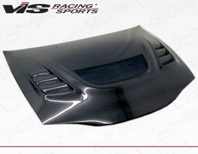 VIS Racing - Carbon Fiber Hood G Speed Style for Mitsubishi Eclipse 2DR 95-99 - Image 1