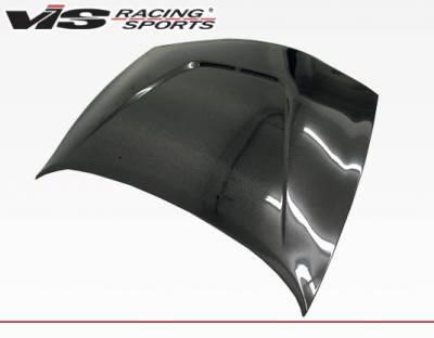 VIS Racing - Carbon Fiber Hood JS Style for Mitsubishi Eclipse 2DR 95-99 - Image 3