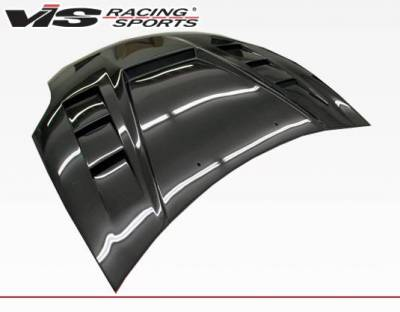 VIS Racing - Carbon Fiber Hood Monster GT Style for Mitsubishi Eclipse 2DR 06-12 - Image 2