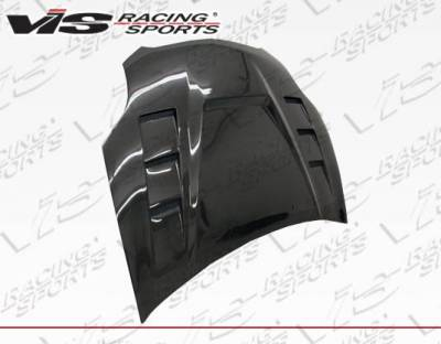 VIS Racing - Carbon Fiber Hood Monster GT Style for Mitsubishi Eclipse 2DR 06-12 - Image 3