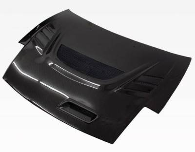 VIS Racing - Carbon Fiber Hood G Speed Style for Mitsubishi Eclipse 2DR 00-05 - Image 2