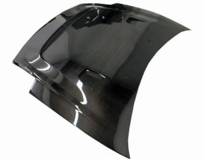 VIS Racing - Carbon Fiber Hood JS Style for Mitsubishi Eclipse 2DR 00-05 - Image 2