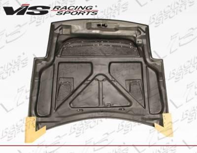 VIS Racing - Carbon Fiber Hood JS Style for Mitsubishi Eclipse 2DR 00-05 - Image 4
