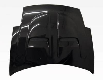 VIS Racing - Carbon Fiber Hood Xtreme GT Style for Mitsubishi Eclipse 2DR 00-05 - Image 2