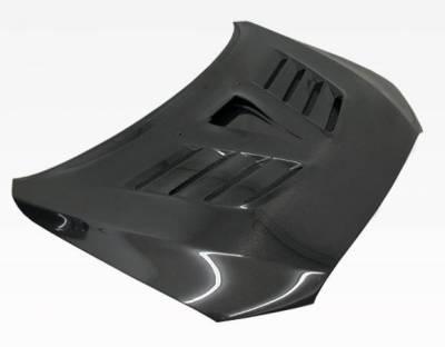 VIS Racing - Carbon Fiber Hood VRS Style for Mitsubishi EVO 10 4DR 2008-2017 - Image 1