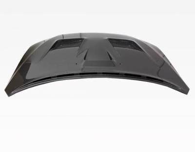VIS Racing - Carbon Fiber Hood VS 2 Style for Mitsubishi EVO 10 4DR 2008-2017 - Image 2