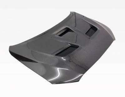 VIS Racing - Carbon Fiber Hood VS 2 Style for Mitsubishi EVO 10 4DR 2008-2017 - Image 5