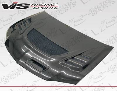 VIS Racing - Carbon Fiber Hood G Speed Style for Mitsubishi EVO 8 4DR 03-05 - Image 2