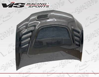 VIS Racing - Carbon Fiber Hood G Speed Style for Mitsubishi EVO 8 4DR 03-05 - Image 4