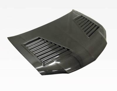 VIS Racing - Carbon Fiber Hood GTC Style for Mitsubishi EVO 8 4DR 03-05 - Image 1