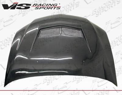 VIS Racing - Carbon Fiber Hood Invader 2 Style for Mitsubishi EVO 8 4DR 03-05 - Image 3