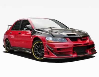 VIS Racing - Carbon Fiber Hood JC Style for Mitsubishi EVO 8 4DR 03-05 - Image 5