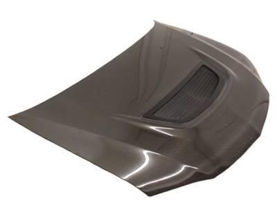 VIS Racing - Carbon Fiber Hood OEM Style for Mitsubishi EVO 8 4DR 03-05 - Image 1