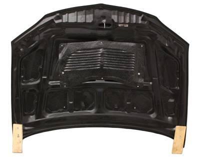 VIS Racing - Carbon Fiber Hood OEM Style for Mitsubishi EVO 8 4DR 03-05 - Image 4