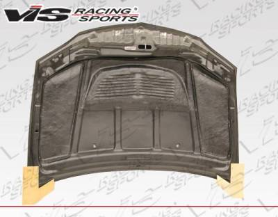 VIS Racing - Carbon Fiber Hood Tracer Style for Mitsubishi EVO 8 4DR 03-05 - Image 3