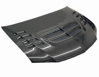 VIS Racing - Carbon Fiber Hood VTX Style for Mitsubishi EVO 8 4DR 03-05 - Image 1