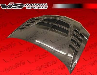 VIS Racing - Carbon Fiber Hood VTX Style for Mitsubishi EVO 8 4DR 03-05 - Image 3