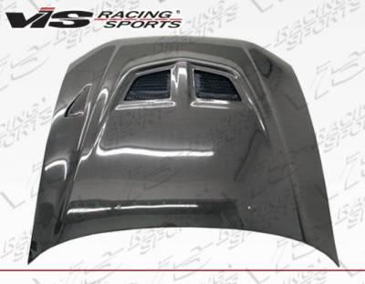 VIS Racing - Carbon Fiber Hood EVO Style for Mitsubishi Galant 4DR 99-03 - Image 1