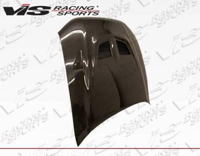 VIS Racing - Carbon Fiber Hood EVO Style for Mitsubishi Galant 4DR 99-03 - Image 2