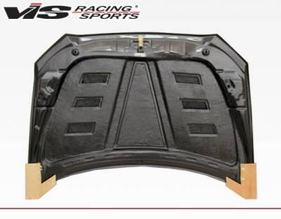 VIS Racing - Carbon Fiber Hood Terminator Style for Mitsubishi Lancer 4DR 2008-2017 - Image 3