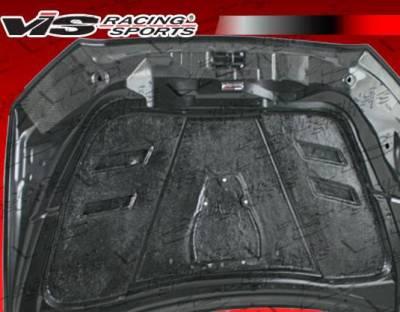 VIS Racing - Carbon Fiber Hood Terminator Style for Mitsubishi Lancer 4DR 2008-2017 - Image 6