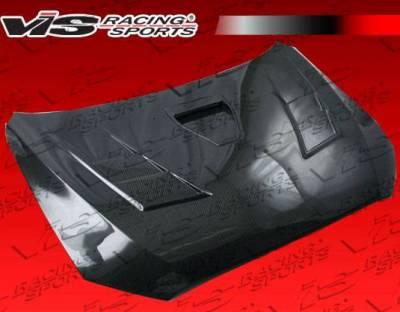 VIS Racing - Carbon Fiber Hood Terminator GT Style for Mitsubishi Lancer 4DR 2008-2017 - Image 2