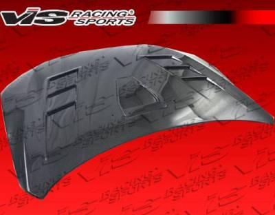 VIS Racing - Carbon Fiber Hood Terminator GT Style for Mitsubishi Lancer 4DR 2008-2017 - Image 3