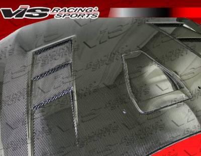 VIS Racing - Carbon Fiber Hood Terminator GT Style for Mitsubishi Lancer 4DR 08-16 - Image 4