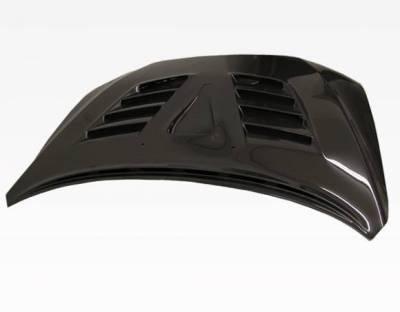 VIS Racing - Carbon Fiber Hood VRS Style for Mitsubishi Lancer 4DR 2008-2017 - Image 5