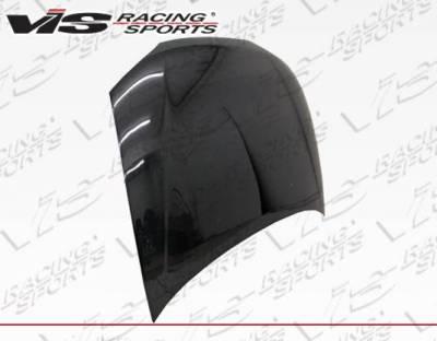 VIS Racing - Carbon Fiber Hood OEM  Style for Mitsubishi Mirage 2DR 97-02 - Image 4