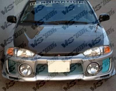 VIS Racing - Carbon Fiber Hood OEM  Style for Mitsubishi Mirage 2DR 97-02 - Image 5